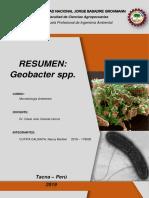 Resumen Geobacter Spp