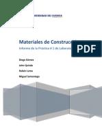 Practica 1 Materiales de construcción
