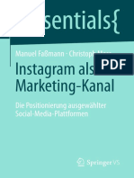 (Essentials) Manuel Faßmann, Christoph Moss (Auth.)-Instagram Als Marketing-Kanal_ Die Positionierung Ausgewählter Social-Media-Plattformen -Vs Verlag Für Sozialwissenschaften (2016)