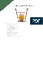Pulverizador PVU 400B Lavrale