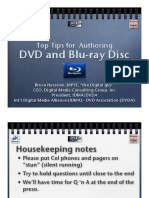 Authoring DVD and BD