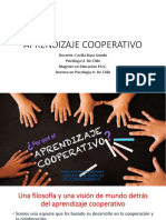 Aprendizaje Cooperativo Clase 4 3 de Marzo