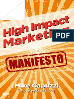 High Impact Marketing Manifesto 2016