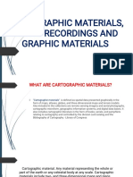 Cartographic Materials, Sound Recordings and Graphic Materials (Cataloging)