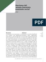 Revista de Investigación Crítica.alba Carosio. Artículo