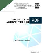 Apostila Agricultura Geral 2018