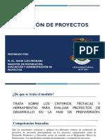 Modulo 1_Evaluación de Proyectos