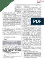 RCD N° 065-2019-sunedu_Las universidades no otorgarán bachiller
