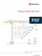 Potain Tower Cranes Spec 7f4428