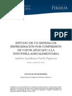 2017 Estudio de Un Sistema de Refrigeración Por Compresión de Vapor Aplicado a La Industria Agroalimentaria