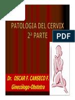 PATOLOGIA DEL CERVIX 2° PARTE