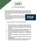 El Nacional Programa