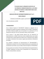 Establecen Plazos Para La Presentación de Las Declaraciones de Predios Correspondientes a Los Años 2003 y 2004 y Modifican Normas Complementarias Que Regula1