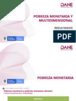 Indice de pobreza en colombia