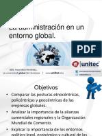 La Administración en Un Entorno Global