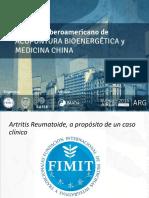 Jesica Gallardo Dx Artritis Reumatoidea.