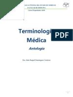 Terminología Médica ANTOLOGIA