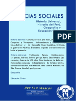 Historia Del Perú - PreSanMarcos Parte 1