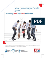 HDFC-Life Group Health Shield Brochure V1