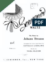 Souvenir Waltz