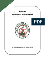 Cover Panduan Kredensial