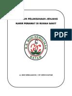 Cover Juklak Jenjang Karir