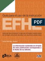 Guía para el uso de la instrucción EFHE