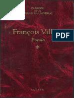 VILLON, Francois. Poesía..pdf