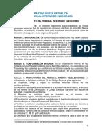 Reglamento de Elecciones Internas-Nueva República-FINAL APROB