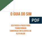 O GUIA DO SIM