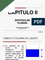 CAPITULO 2 ESTATICA