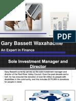 Gary Bassett Waxahachie An Expert in Finance.pptx