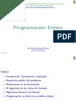 Programación Entera