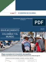 1-Envejecimiento en Colombia y en El Mundo Laura Pabon Alvarado
