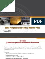 SEIN - Perspectivas Energéticas de Corto y Mediano Plazo 2010