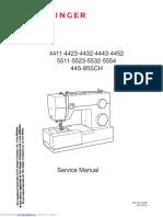 Singer 4423 Manual Service