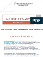 SAP Simple Finance PPT