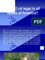 Is CBD Oil Legal in All States of America