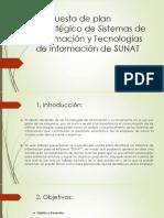 Planeamiento organizacional sobre SUNAT