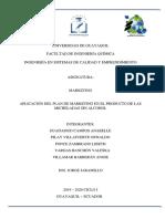 Proyecto Plan de Marketing 6to 1 Isce Guadamud-pilay-ponce-Vargas y Villamar
