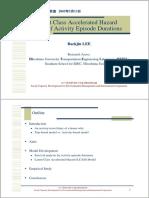 Activity based analysis
