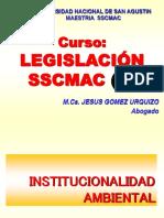 2. LEGISLACION Institucionalidad 2019