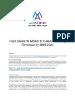 Food Colorants Market