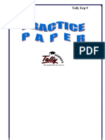 Tally Practice book