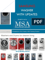 MSA Samsung Washer