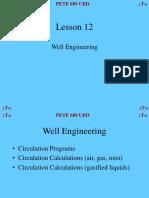 Well & Casing design