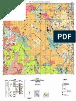 Mapa Geológico de huaraz