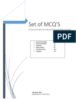 Set of Mcqs (2058)