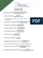 Formulario Ratios Financieros