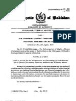 Pakistan Credit Bureau Act-2015